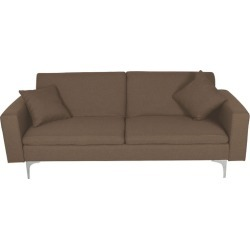 Sweda 3 Seater Sofa Bed Colour: Brown found on Bargain Bro Philippines from templeandwebster.com.au for $307.48