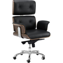 Eames Premium Leather Replica Executive Office Chair found on Bargain Bro Philippines from templeandwebster.com.au for $375.97