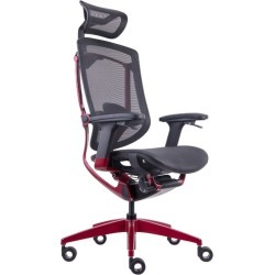Marrit GT07-35E Ergonomic Gaming Chair Colour: Red