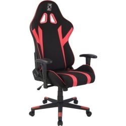 Gamer Series Ergonomic Gaming Chair Colour: Black & Red found on Bargain Bro Philippines from templeandwebster.com.au for $225.31
