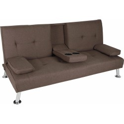 Hela 3 Seater Sofa Bed Colour: Brown found on Bargain Bro Philippines from templeandwebster.com.au for $259.55