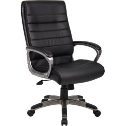 Capri Office Chair Colour: Black found on Bargain Bro India from templeandwebster.com.au for $191.06