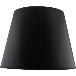Shade Black Taper Shade Size: Large