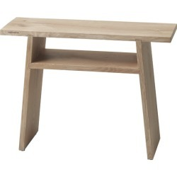 Mink Oak Wood Bathroom Bench