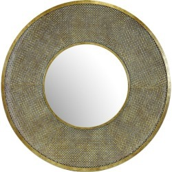Sophia Round Mirror Colour: Gold found on Bargain Bro Philippines from templeandwebster.com.au for $239.00