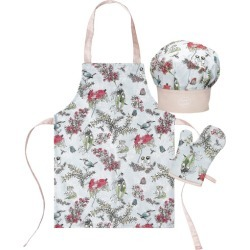 3 Piece Blue Blossom Children's Chef Set found on Bargain Bro India from templeandwebster.com.au for $15.59