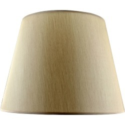 Shade Beige Taper Shade Size: Small