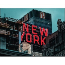 New York Canvas Wall Art Frame / Size: Unframed / 41 x 51 x 3cm found on Bargain Bro India from templeandwebster.com.au for $90.82