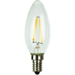 Set of 2 C35 LED Filament Lamp Watts: 4W found on Bargain Bro Philippines from templeandwebster.com.au for $20.52