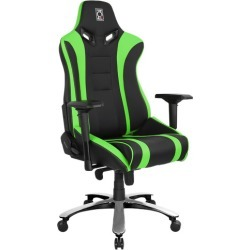Alien XL Series Ergonomic Gaming Chair Colour: Black & Green found on Bargain Bro India from templeandwebster.com.au for $375.97