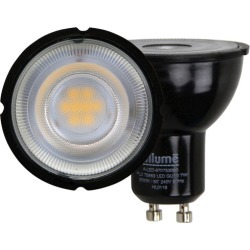 Black GU10 LED Globe Colour Temperature: 3000K found on Bargain Bro Philippines from templeandwebster.com.au for $10.24