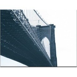 Brooklyn Bridge 1 Canvas Wall Art Frame / Size: Unframed / 41 x 51 x 3cm found on Bargain Bro India from templeandwebster.com.au for $90.82