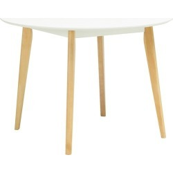 Argols Dining Table Colour: White found on Bargain Bro Philippines from templeandwebster.com.au for $197.91