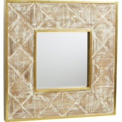 Isadora Wooden Wall Mirror found on Bargain Bro Philippines from templeandwebster.com.au for $136.28