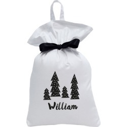 Lux Collection Monochrome Trees Santa Sack found on Bargain Bro India from templeandwebster.com.au for $37.33
