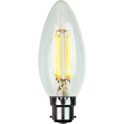 C35 LED Filament Bulb Bulb Type: B22 found on Bargain Bro Philippines from templeandwebster.com.au for $20.51