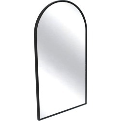 Black Slimline Arched Metal Wall Mirror found on Bargain Bro Philippines from templeandwebster.com.au for $122.58