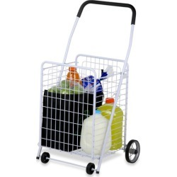 Heavy Duty 4 Wheel Utility Cart found on Bargain Bro Philippines from templeandwebster.com.au for $44.48