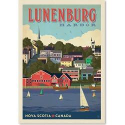 Nova Scotia Canada Printed Wall Art Frame / Size: Unframed Paper Print / 60 x 42cm
