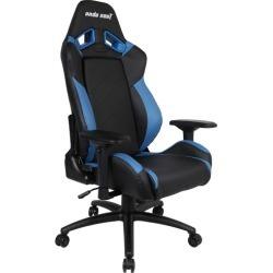 Anda Arrow Up Premium Faux Leather Gaming Chair Colour: Black/Blue found on Bargain Bro India from templeandwebster.com.au for $273.24