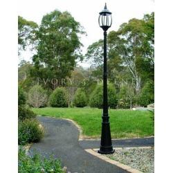 Victorian Garden Lamp Post Colour: Black