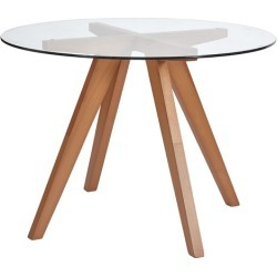 Beech Hjordis Scandi Dining Table found on Bargain Bro India from templeandwebster.com.au for $204.76