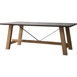 Blenn Trestle Dining Table Size: 200cm x 100cm found on Bargain Bro Philippines from templeandwebster.com.au for $1300.47