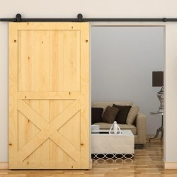 240cm Sliding Barn Door Hardware found on Bargain Bro India from templeandwebster.com.au for $141.97