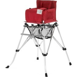 Lullie Baby High Chair Colour: Red