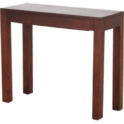 Belgium 1 Drawer Console Table Finish: Mahogany