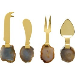 4 Piece Agate Cheese Knives Set found on Bargain Bro Philippines from templeandwebster.com.au for $27.16