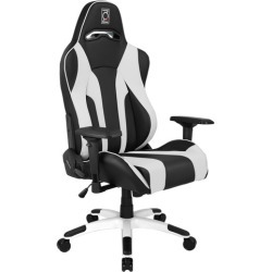 Hypersport Series Ergonomic Gaming Chair Colour: Black & White found on Bargain Bro India from templeandwebster.com.au for $341.72