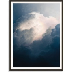 In The Distance Printed Wall Art Frame / Size: Black Framed Print / 41 x 51cm x 2cm