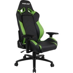 Anda Arrow Up Premium Faux Leather Gaming Chair Colour: Black/Green found on Bargain Bro India from templeandwebster.com.au for $273.24