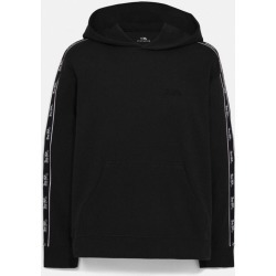 Horse And Carriage Tape Hoodie in Black - Size XL found on Bargain Bro UK from coach stores limited
