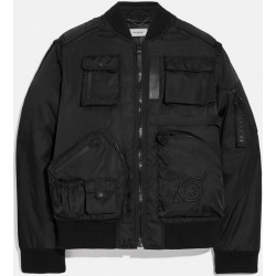 X Michael B. Jordan 2-in-1 Ma-1 Jacket in Black - Size 56 found on MODAPINS from coach stores limited for USD $450.89