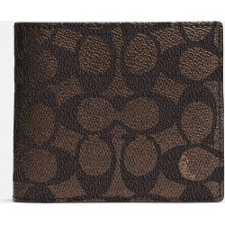 dd7f0369b2f6 Coach Compact Id Wallet In Signature Canvas found on MODAPINS from coach  stores limited for USD