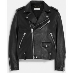 Moto Jacket in Black - Size 0 found on Bargain Bro UK from coach stores limited