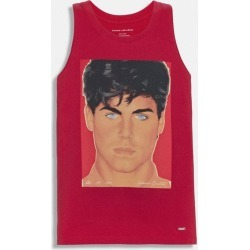 X Richard Bernstein Tank With Rob Lowe in Red - Size L found on Bargain Bro UK from coach stores limited