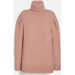 Statement Sleeve Turtleneck in Pink - Size S found on MODAPINS from coach stores limited for USD $172.21