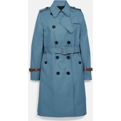Trench Coat in Blue - Size 06 found on MODAPINS from coach stores limited for USD $700.14