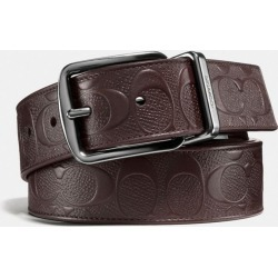 Harness Buckle Cut-to-size Reversible Belt, 38mm in Brown found on Bargain Bro UK from coach stores limited