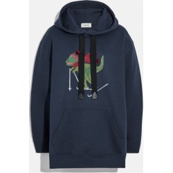 Rexy Hoodie in Blue - Size S found on Bargain Bro UK from coach stores limited