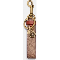 Signature Charm Loop in Brown - Size ONE found on Bargain Bro UK from coach stores limited