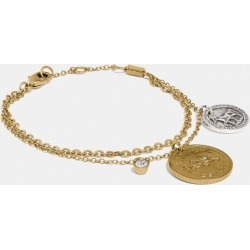 Horse And Carriage Coin Bracelet in Yellow found on Bargain Bro UK from coach stores limited
