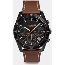 Thompson Sport Watch, 41mm in Brown - Size MEN found on Bargain Bro UK from coach stores limited