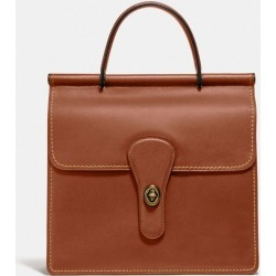 Willis Top Handle in Brown found on Bargain Bro UK from coach stores limited