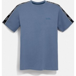 Horse And Carriage Tape T-shirt in Grey - Size S found on Bargain Bro UK from coach stores limited