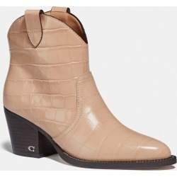 Paige Western Bootie in Beige - Size 7 B found on Bargain Bro UK from coach stores limited