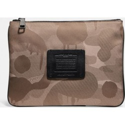 Multifunctional Pouch With Wild Beast Print in Beige found on Bargain Bro UK from coach stores limited